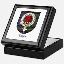 Logan Clan Crest Tartan Keepsake Box