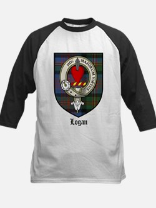 Logan Clan Crest Tartan Tee