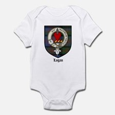 Logan Clan Crest Tartan Infant Bodysuit