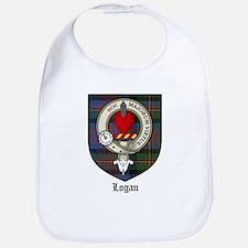 Logan Clan Crest Tartan Bib