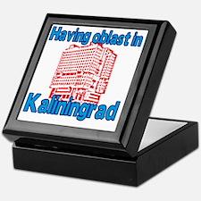 Having Oblast in Kaliningrad Keepsake Box