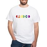 Pride Pop White T-Shirt
