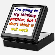 positive-thinking2 Keepsake Box