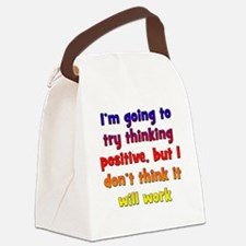 positive-thinking2 Canvas Lunch Bag