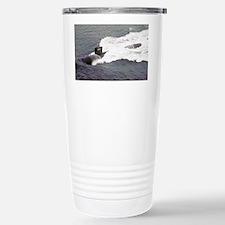cincinnati small poster Travel Mug