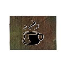 COFFEE_2 5'x7'Area Rug