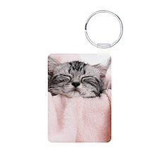 kitty basket slider Keychains