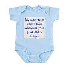 Air Force Blues stuff Infant Bodysuit