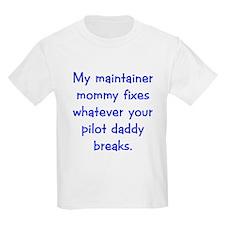 Air Force Blues stuff Kids T-Shirt