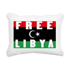 FREE LIBYA Rectangular Canvas Pillow