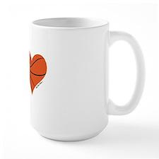 heart bball Mug