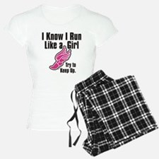 run like a girl Pajamas