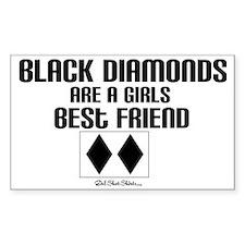 black diamond Bumper Stickers