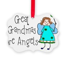 Great Grandmas Are Angels Ornament