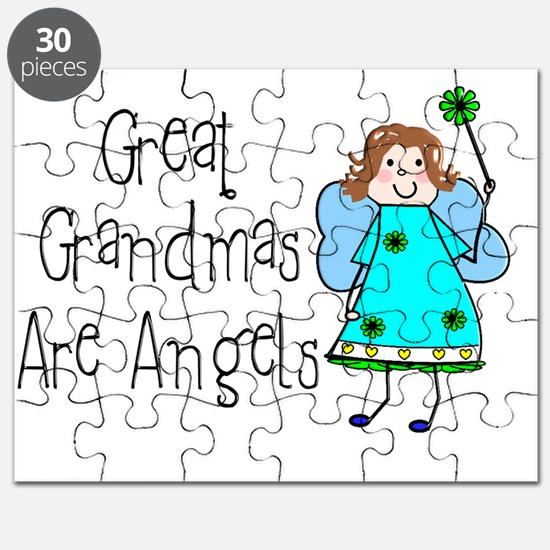 Great Grandmas Are Angels Puzzle