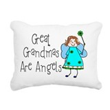 Great grandma Throw Pillows