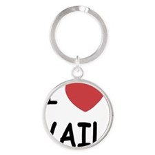 VAIL Round Keychain