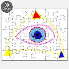 Triple Triangle Puzzle