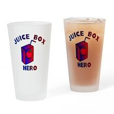 Juice Box Hero Drinking Glass