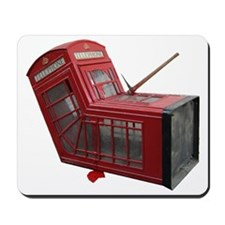 Banksy Phone Box Mousepad