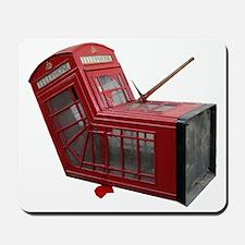 Banksy Phone Box Mousepad