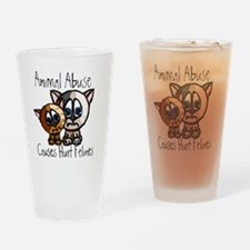 Felines Drinking Glass