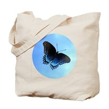 Red Spotted Purple Butterfly Buttons, Mag Tote Bag