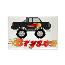 bryson-truck Rectangle Magnet