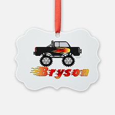 bryson-truck Ornament