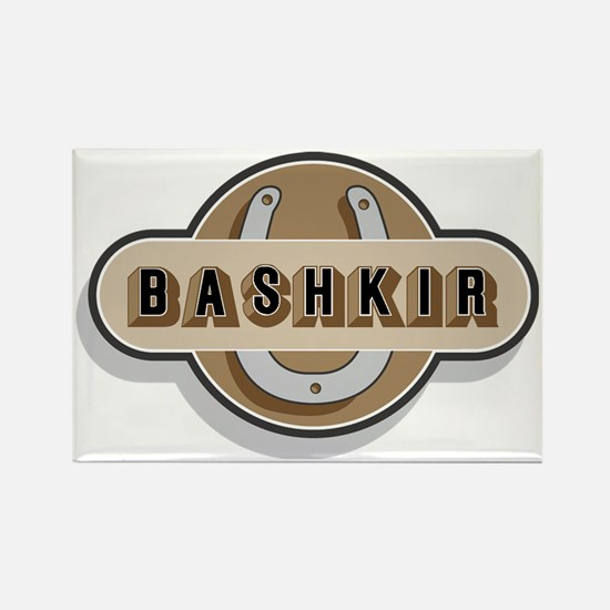 FIN-horseshoe-bashkir-CROP Rectangle Magnet