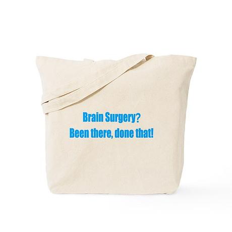 Funny Brain Surgery Tote Bag