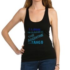 argentine_tango_love_to_dance_b Racerback Tank Top