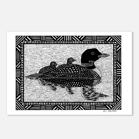Loons Postcards (Package of 8)