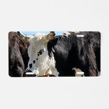 Longhorn II Aluminum License Plate