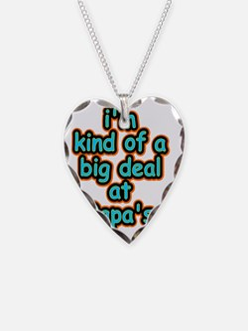 Big Deal At Papas Necklace