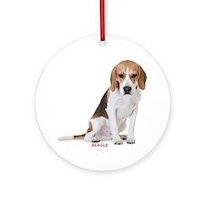 beagle311 Round Ornament
