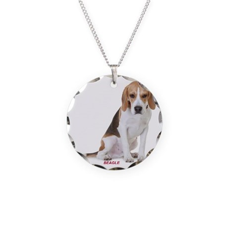 beagle311 Necklace Circle Charm