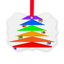 Gay Christmas Tree Ornament
