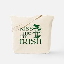 kiss-me-irish.gif Tote Bag