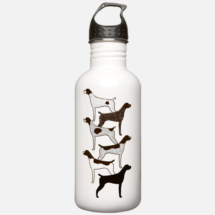 IPadSixShorthairs001 Sports Water Bottle