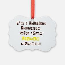 BrilliantBlonde030111 Ornament