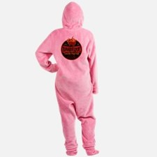 bbq lover Footed Pajamas