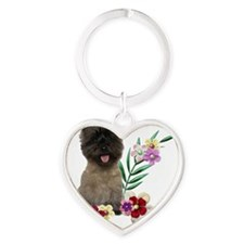 FlowerCairn Heart Keychain