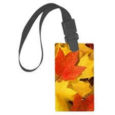 Autumn_leaves_iPhone Luggage Tag