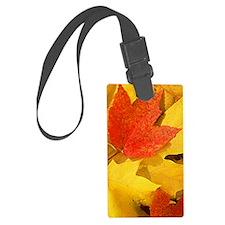 Autumn_leaves_iPhone4 Luggage Tag