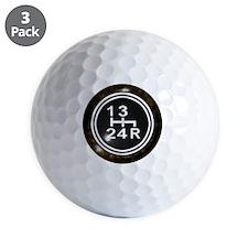 240Shift-Knob Golf Ball