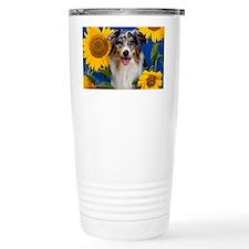 AUS Shep greeting Travel Mug