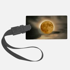 large framed moon Luggage Tag