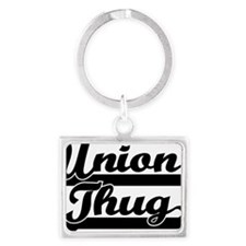 unionthug Landscape Keychain