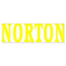 NORTON BEST YELLOW Bumper Sticker